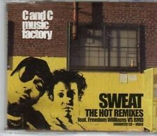 (BW234) C & C Music Factory, Sweat - The Hot remixes - 2004 CD