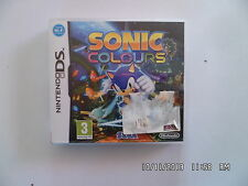 JEU NINTENDO DS : SONIC COLOURS    D5