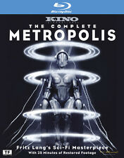 Complete Metropolis [Limited Edition] (2010, Blu-ray New) BLU-RAY/WS