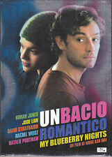 2 Dvd **UN BACIO ROMANTICO ♥ MY BLUEBERRY NIGHTS** con Norah jones Jude Law 2008