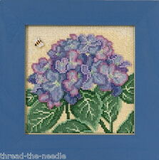 Mill Hill Buttons & Beads Spring Series Hydrangea MH14-1715 Cross Stitch Kit