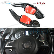Carbon Fiber Steering Wheel Shift Paddle A Style for VW CC Golf6 Scirocco