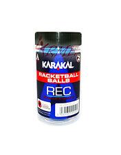 Karakal Racquetball Balls 2 Pack - Blue (Recreational Balls)