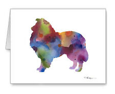 Collie Note Cards With Envelopes