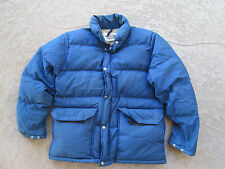 USED THE NORTH FACE DOWN FEATHER JACKET MADE IN USA BROWN LABEL SIZE US MEN'S M