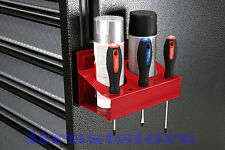 METAL STEEL MAGNETIC SPRAY PAINT CAN HOLDER HOLDING RACK FOR SIDE OF TOOL BOX