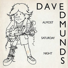 "Dave Edmunds - Almost Saturday Night 7"" Single 1981"