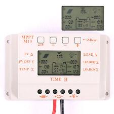LCD MPPT 10A Solar Laderegler Solarregler Solarpanel Controller 12/24V Regulator