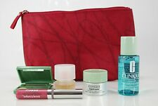 Clinique campioni Set 5 pezzi incl. Borsa Cosmetici Night Cream/lipglos/SIMPLY