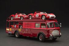 Exoto 43 / 1964 Bartoletti 682 Scuderia Ferrari Transporter / 1:43 / #EXO00034