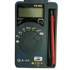 LCD Mini Auto Range AC/DC Pocket Digital Multimeter Voltmeter Tester Tool HR
