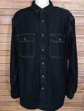 C.C. Filson Co. Men's Cotton Denim Heavy Shirt Size XL