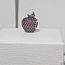 AUTHENTIC PANDORA CHARM RED PAVE  APPLE #791485CFR