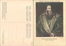 VENEZIA 1935  MOSTRA DI TIZIANO - RITRATTO DI PIETRO ARETINO     (rif.fg.7803)