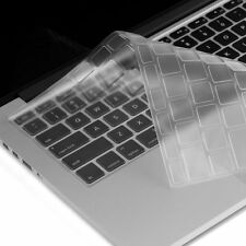 "5Pcs Clear TPU Keyboard Protector Cover Skin for Apple MacBook Pro Retina 13""15"""
