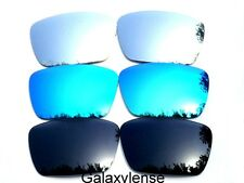 Galaxy Replacement Lenses For Oakley Fuel Cell  Blue&Black&Titanium Polarized
