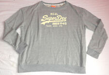 NEW SUPERDRY TOP SWEATSHIRT GREY XS X-SMALL HOODIE MENS  AUTH