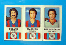 CALCIATORI PANINI 1976-77-Figurina-Sticker n. 357 -FUSARO#MARCHESI..CATANIA -Rec