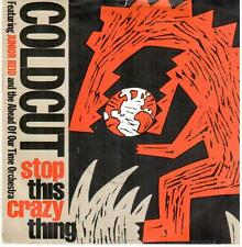 """1481  7""""Single: Coldcut - Stop This Crazy Things / same (Speng)"""