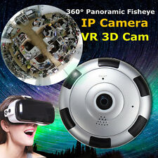 Fisheye Panoramic HD VR IP Camera WIFI Wireless 360 Degree 3D 1-3Mp Network Cam