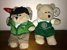 2x Starbucks China Red Flag+U.K. Old Logo Destination + Tags bearista bear.Rare!