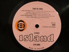 FREE - TONS OF SOBS - UK - 1st PRESS - BULLEYE ISLAND