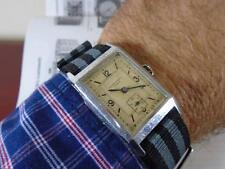 Relógio Record Watch Longines 1930 's Curvex Banana Artdeco