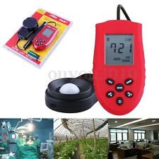 Digital LCD Accurate 200,000 Lux FC Light Tester Photometer Luxmeter Luminometer
