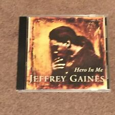 JEFFREY GAINES Hero In Me (Promotional CD, Music, Rock, Male, Vocals, Single)