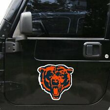 "Chicago Bears Jersey 6"" x 6"" Oval Full Color Magnet"