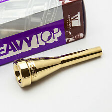 Genuine Denis Wick 3C Heavytop 24K Gold Trumpet Mouthpiece NEW