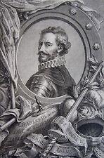 Simon Charles MIGER (1736-1820): Portrait de Charles III du nom Duc de Bourbon.