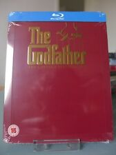 Blu ray steelbook The Godfather Trilogy U.K Play.com New & Sealed NEUF avec VF