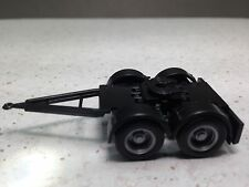 HO 1/87 Herpa # 51454, # 51453-002 Dual Axle Truck Dolly (1) BLACK