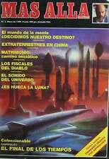 REVISTA MÁS ALLÁ DE LA CIENCIA - Nº 3 - MAYO DE 1989 - VER PORTADA E ÍNDICE