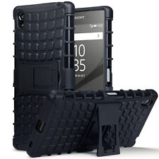 Original Sony Xperia Z5 Premium Rugged Case Tech Survival Industrial Rock Black