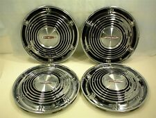"""1964 OLDSMOBILE HUBCAPS 14"""" WHEEL COVERS GM 64 OLDS"""