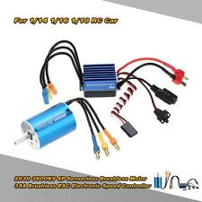 2838 3600KV 4P Motor & 35A ESC Speed Controller for 1/14 1/16 1/18 RC Car R5LS