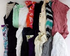 Aerie, H&M Lot of 16 Juniors Cotton Tops, Tanks, Blouses XS Small S [BG8201]