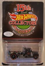 Hot Wheels 15th Nationals/Convention Larry Wood DINNER STICKER Turbine Time