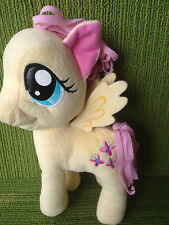 "TY- MY LITTLE PONY- FLUTTERSHY- 11"" PLUSH SOFT TOY - HASBRO 2013"