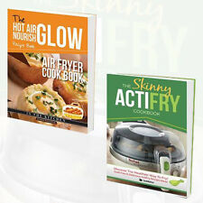 Skinny ActiFry Cookbook and Hot Air Frying Nourish Collection 2 Books Set NEW PB