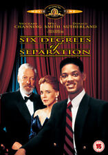 SIX DEGREES OF SEPARATION - DVD - REGION 2 UK