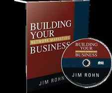 Building Your Network Marketing Business  by Jim Rohn Audio CD MLM Opportunity