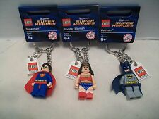 Lego #853429 DC Super Heroes Batman +2 More Different Key Chains Bundle RHTF