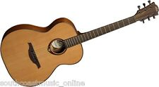 LAG TRAMONTANE T200A AUDITORIUM ACOUSTIC GUITAR BRAND NEW