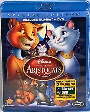 NEW Disney 2012 THE ARISTOCATS SPECIAL ED BLURAY/DVD 2 DISC SET +DMR PTS
