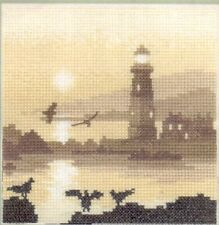 "Heritage Crafts Cross Stitch Kit ""Guiding Light"" on evenweave"