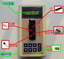 Digital LCD Transistor Tester Detector IC Tester Maintenance Meter MOS PNP NPN