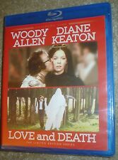 LOVE AND DEATH LIMITED EDITION TWILIGHT TIME BLU-RAY, NEW,SEALED, REGION FREE
